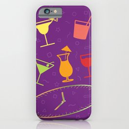 Happy Hour Cocktail iPhone Case