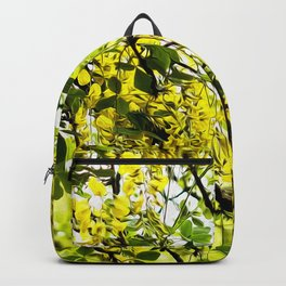Golden spring 2 Backpack