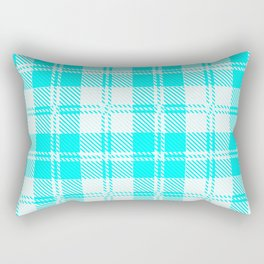 Tratan Style Pale Blue Backgrpund Rectangular Pillow