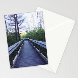 Boardwalk in Petoskey, Michigan Stationery Cards