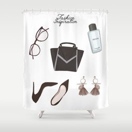 Fashion essentials Shower Curtain