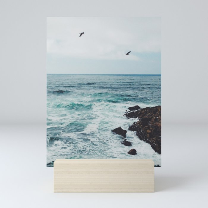 Sea Blue Mini Art Print
