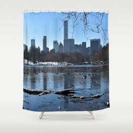 Highs and Lows Shower Curtain