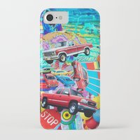 cars iPhone & iPod Cases featuring Cars by John Turck
