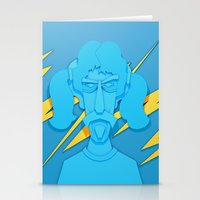 zappa Stationery Cards featuring Zappa by freefallflow
