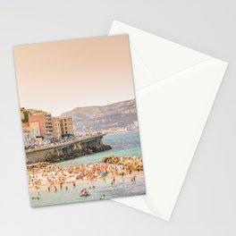 Summer - Beach - Marseille - France Stationery Cards
