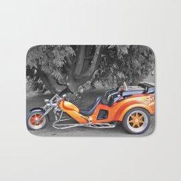 Three-wheeled Motorbike Bath Mat