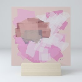 In a feminine world Mini Art Print