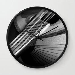 Mandolin Portrait 3 Wall Clock