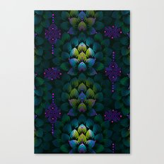Variations on A Feather IV - Stars Aligned (Primeval Edition) Canvas Print
