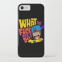 drunk iPhone & iPod Cases featuring Drunk Beebz by Chris Piascik