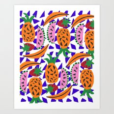 Fruit Party IV Art Print