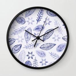 Floral #১ Wall Clock