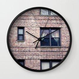 Across the Street, New York City, Queens Wall Clock