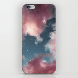 Cotton candy clouds. iPhone Skin