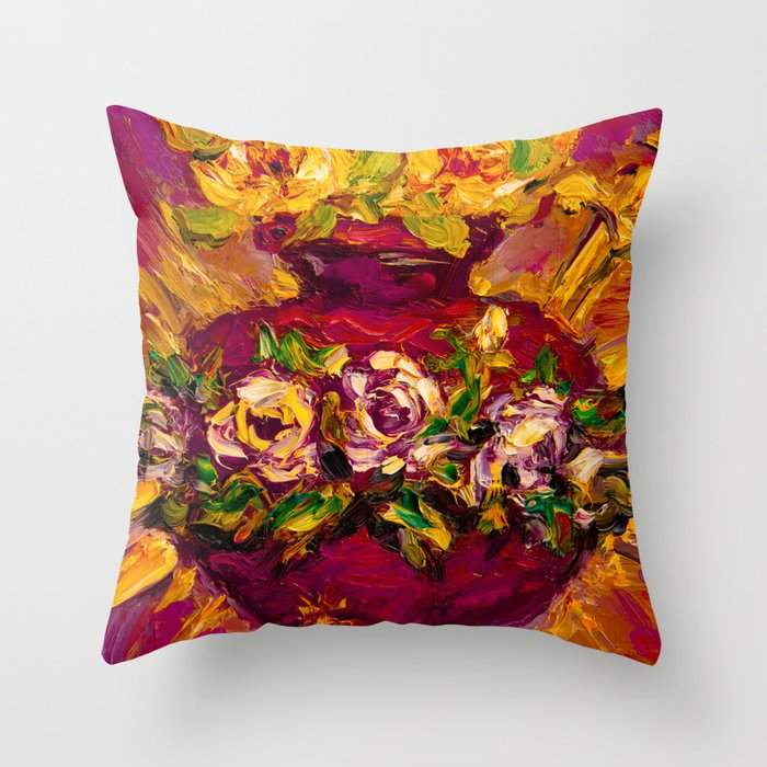Sacred love II Throw Pillow