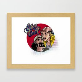 Jay and Silent Bob - Stay Cool Framed Art Print