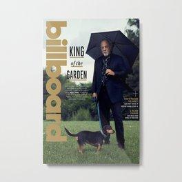 Bi-lly Joel Billboard e-magazine cover Metal Print