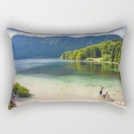 Bled lake, Slovenia Rectangular Pillow