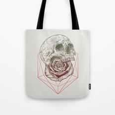 Skull Rose Geo Tote Bag