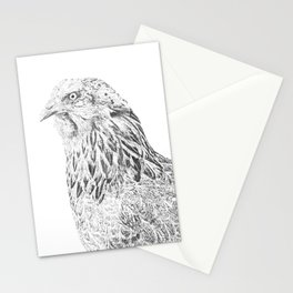 she's a beauty drawing Stationery Cards