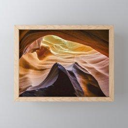 Antelope Canyon Filtered Light   3-9-15 Framed Mini Art Print