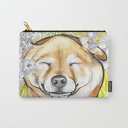 Jay Jay the happy Shiba Carry-All Pouch