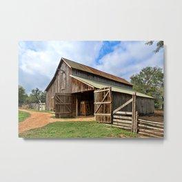 Who Left The Barn Door Open? Metal Print