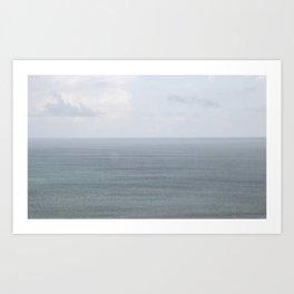 Días lluviosos Art Print