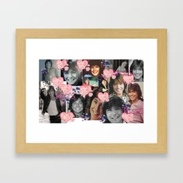David Cassidy - Butterfly Kisses N Hearts Framed Art Print