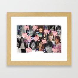 David Cassidy - Butterfly Kisses N Hearts Framed Art Print