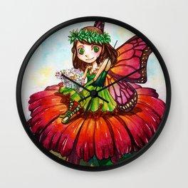 Fairy - Butterfly Wall Clock