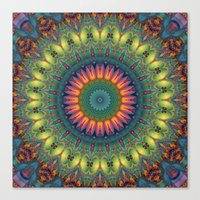 trippy Canvas Prints featuring Trippy by Lyle Hatch
