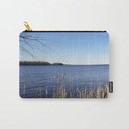 """Incredi-blue"" lake view - Lake Mendota, Madison, WI Carry-All Pouch"