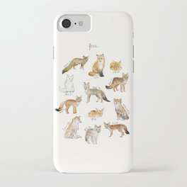 Foxes iPhone Case