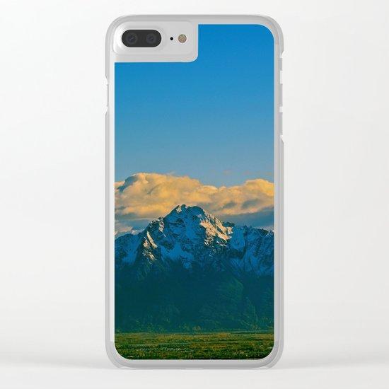 Pioneer Peak - Mat-Su Valley Clear iPhone Case
