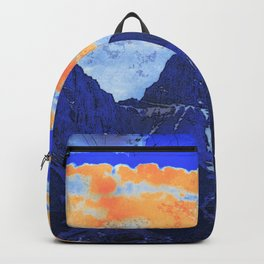 Faith - Hope - Charity - The Three Sisters Mountains, Canmore, AB, Canada Backpack