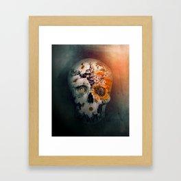 Skull Still Life II Framed Art Print
