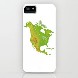 Physically North America iPhone Case