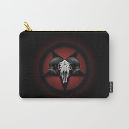 Pentaskull (Red) Carry-All Pouch