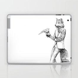 Gentleman Wolf Laptop & iPad Skin
