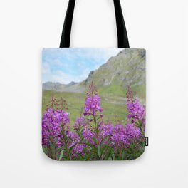 Hatcher Pass Fireweed Tote Bag