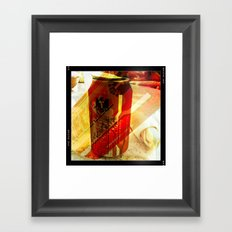 Tecate Beer Framed Art Print