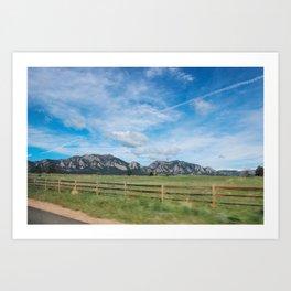 Eldorado Canyon Art Print