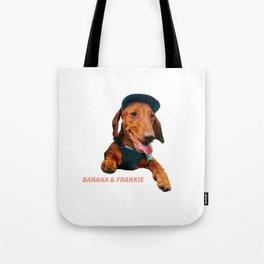 Banana & Frankie | Daschund Sausage Dog Tote Bag