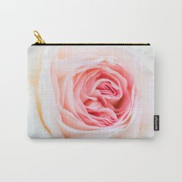 Fresh Pink Flower Carry-All Pouch
