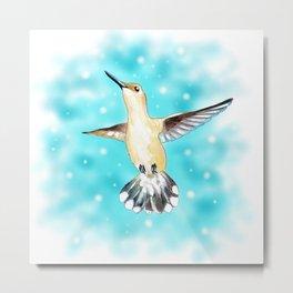 Hummingbird Magic Metal Print