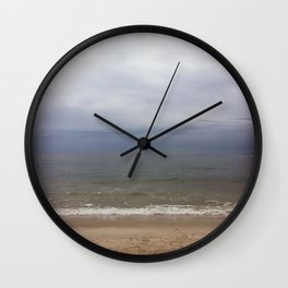 A cloudy day in New York Wall Clock