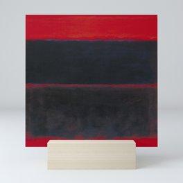 1957 Light Red Over Black by Mark Rothko HD Mini Art Print