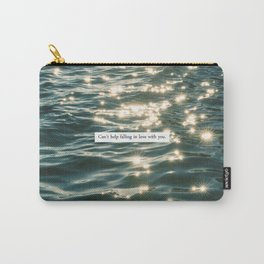 FALLING IN LOVE. Carry-All Pouch
